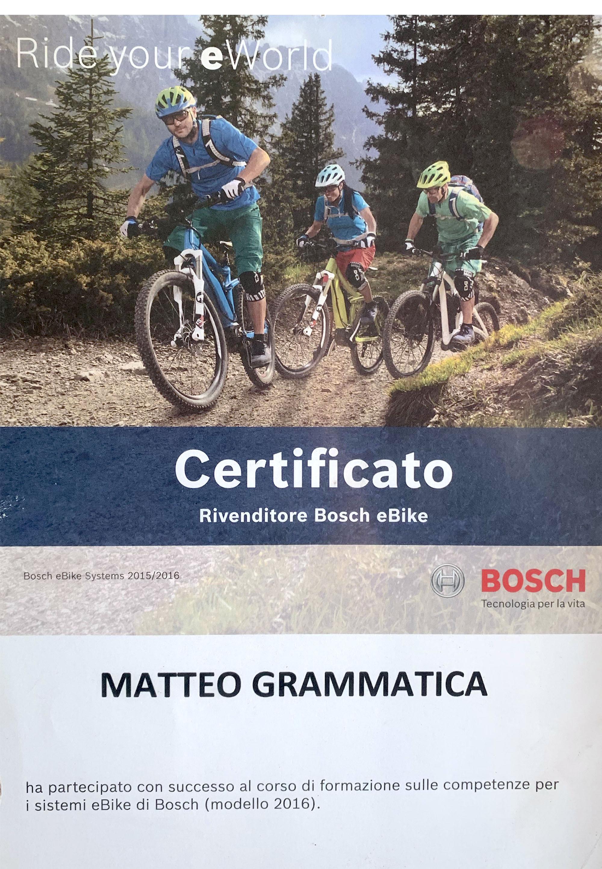 Cicli da Elio - rivendita assistenza Bosch ebike
