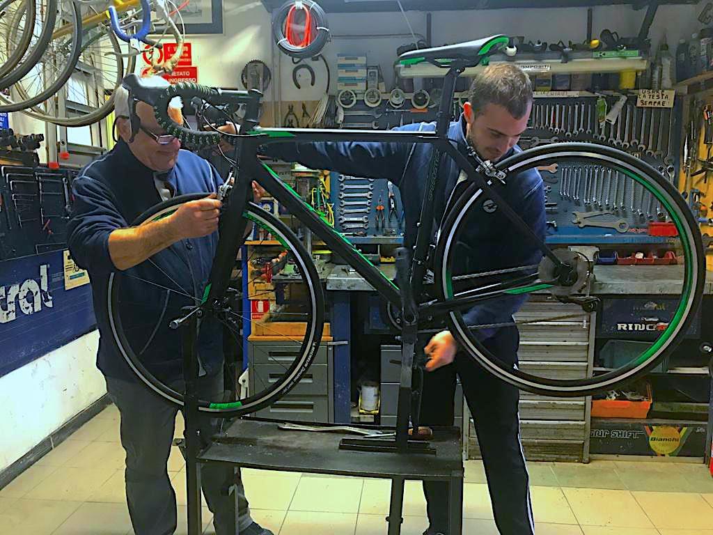 Cicli da Elio - assistenza biciclette rapallo